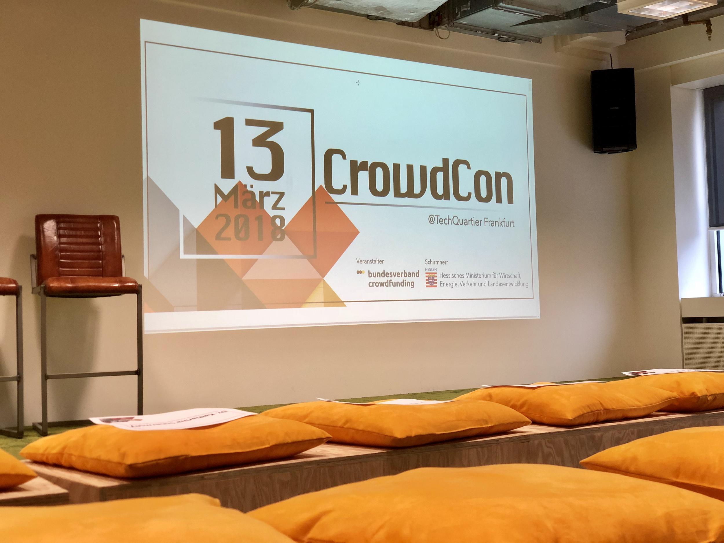 Die erste CrowdCon in Frankfurt | Companisto Blog