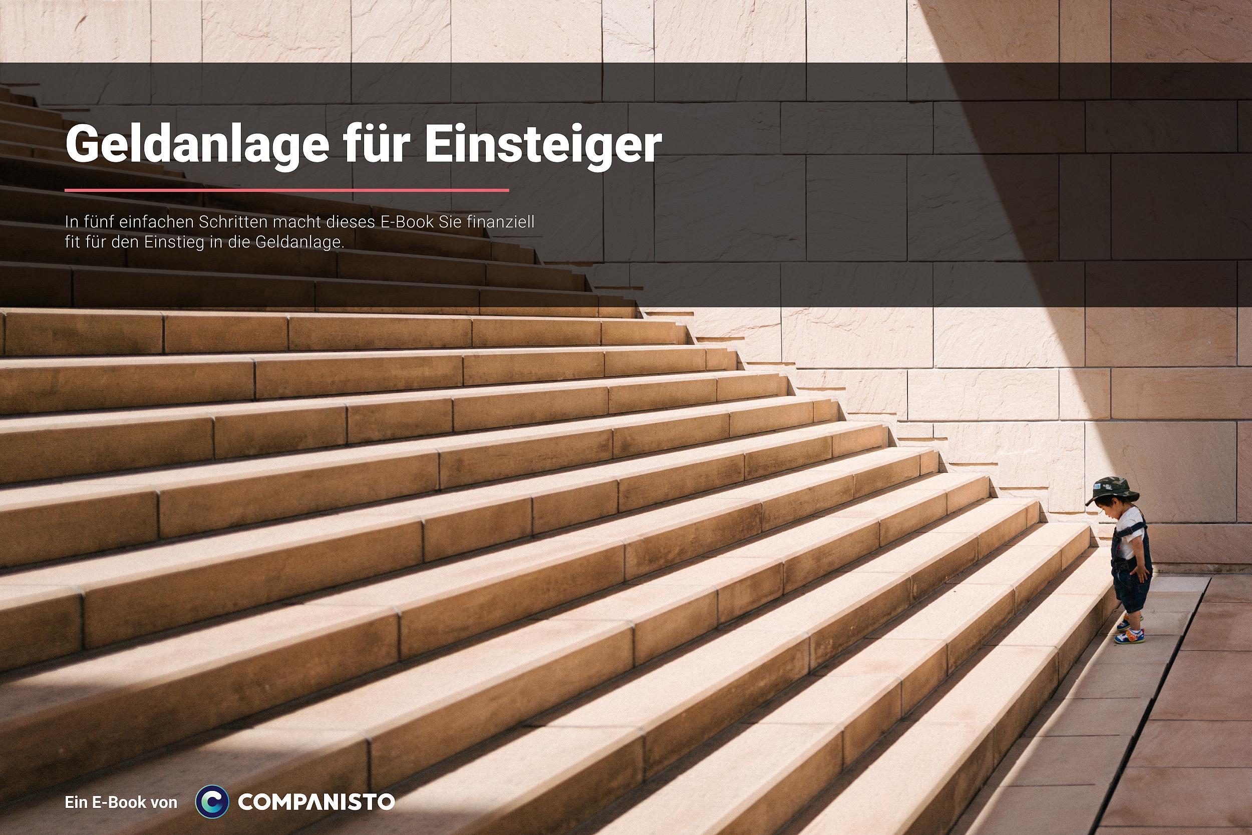 """Kostenloses E-Book """"Geldanlage für Einsteiger"""" herunterladen"""
