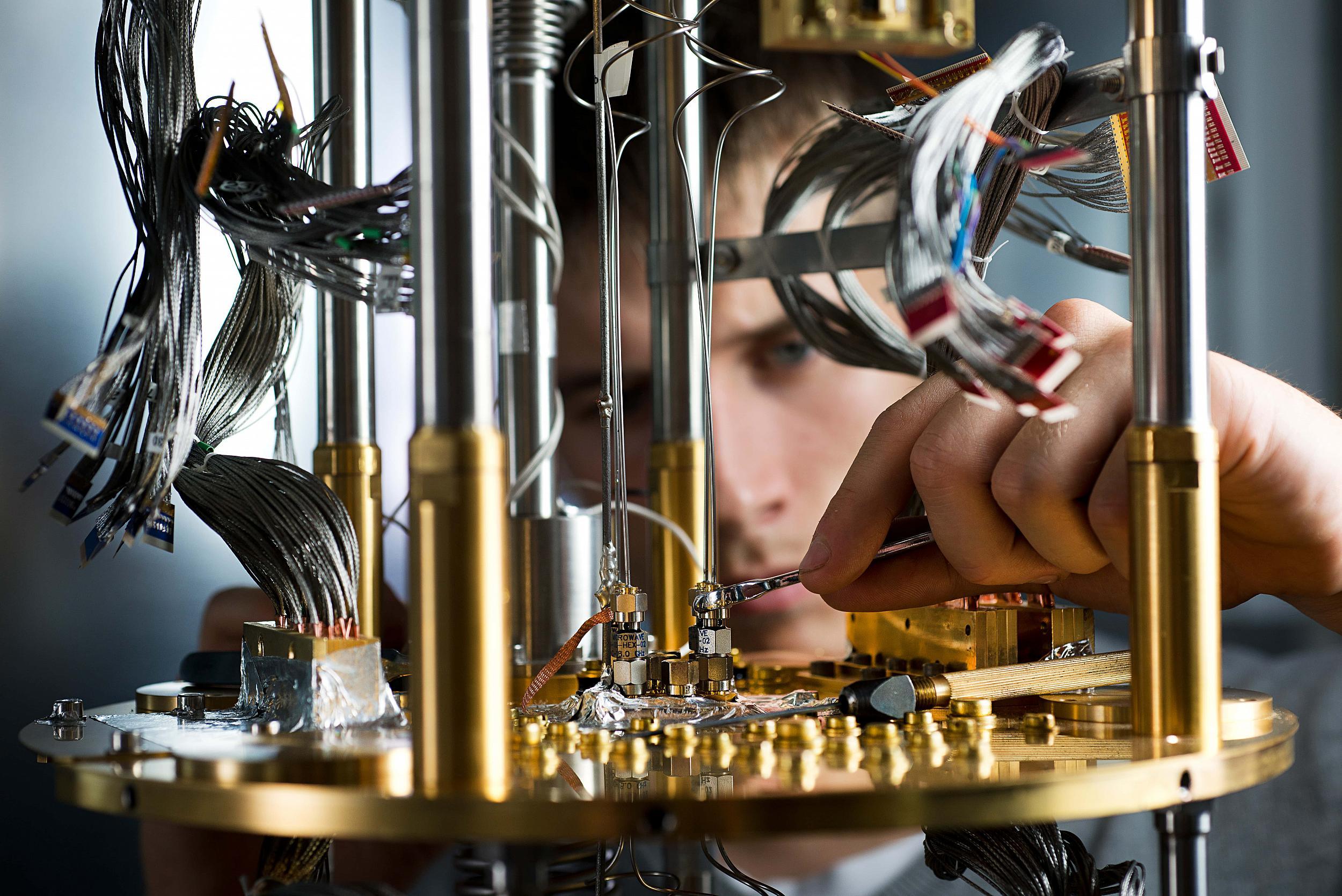 Sind Quantencomputer tot, lebendig oder beides zugleich?