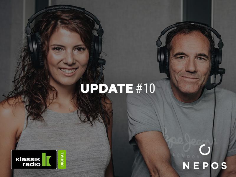 Nepos trifft bei Klassik Radio auf offene Ohren