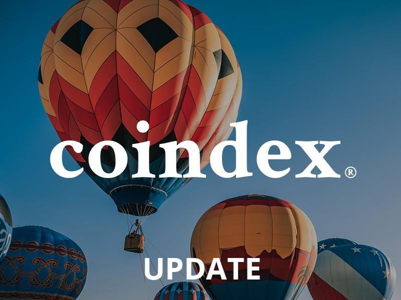 coindex | Market launch update