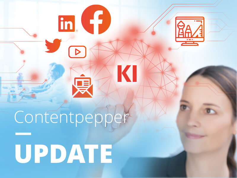Contentpepper – Die Marketing-Plattform, bei der KI nicht nur draufsteht, sondern auch drin steckt