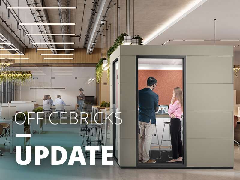 OFFICEBRICKS benefits from the growth trend in the office furniture market