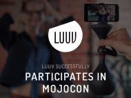 LUUV Successfully Participates in Mojocon