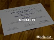REPLICATE® System receives an award by the Clean Implant Foundation