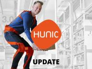 Incoming orders in the fields of care and logistics underline the market potential of HUNIC