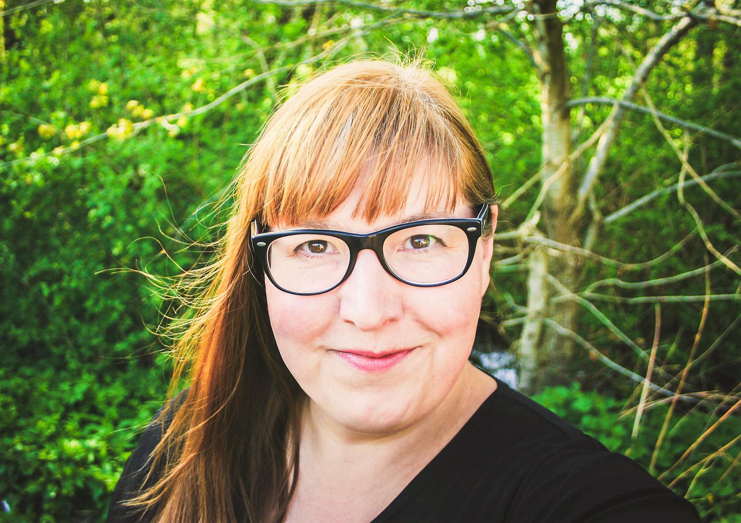 """Die erfolgreiche <a href=""""https://99designs.de/profiles/crossthelime"""" target=""""_blank"""">Grafikdesignerin Gila von Meißner</a>, © Gila von Meißner"""