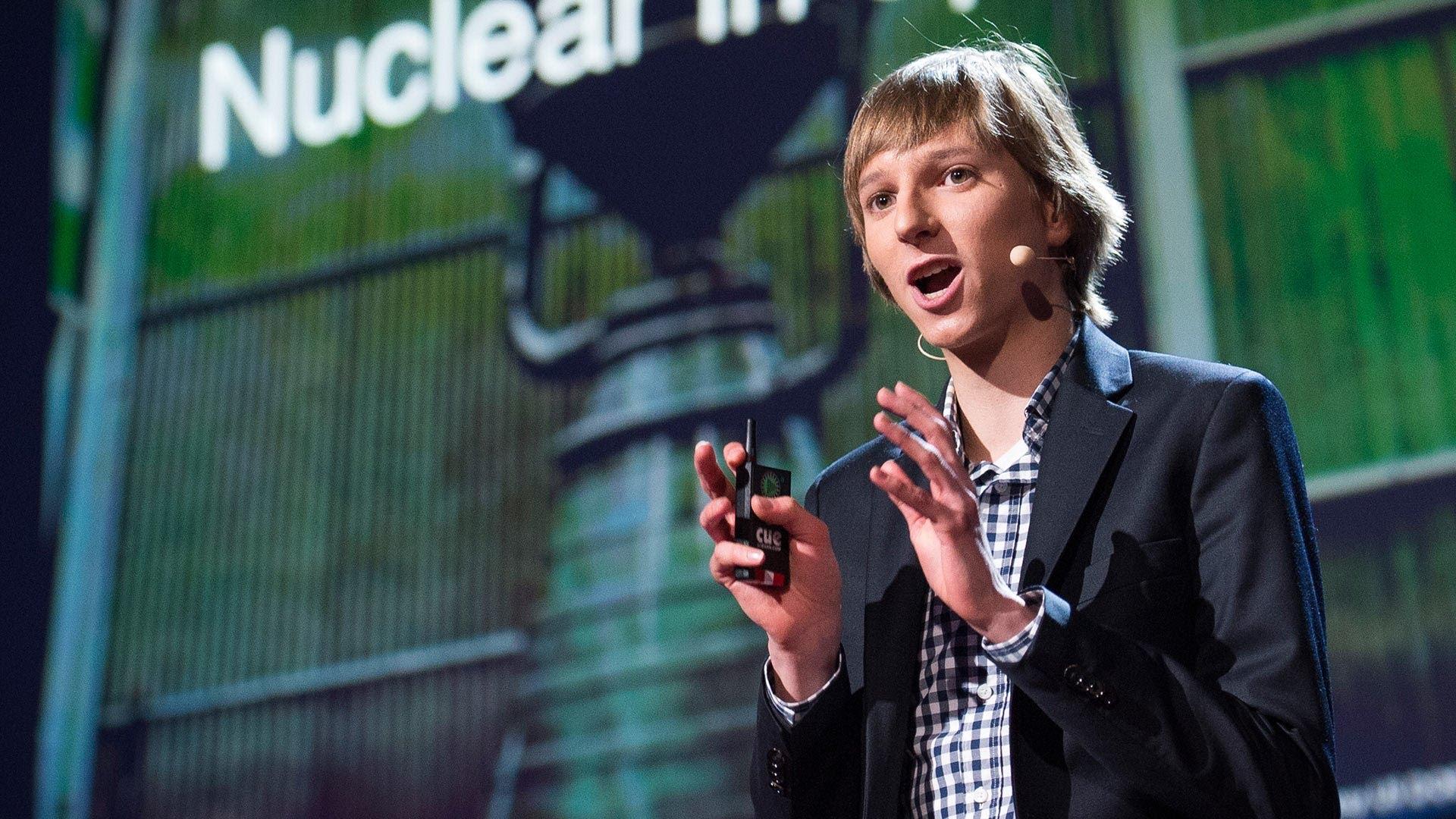 Taylor Wilson beim TED-Talk: Ich bin Taylor Wilson, 17 Jahre alt und Kernphysiker.