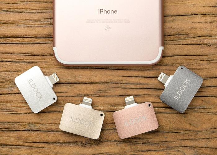 iLDock ermöglicht es, mit dem neuen iPhone 7 gleichzeitig das Akku zu laden und Musik zu hören