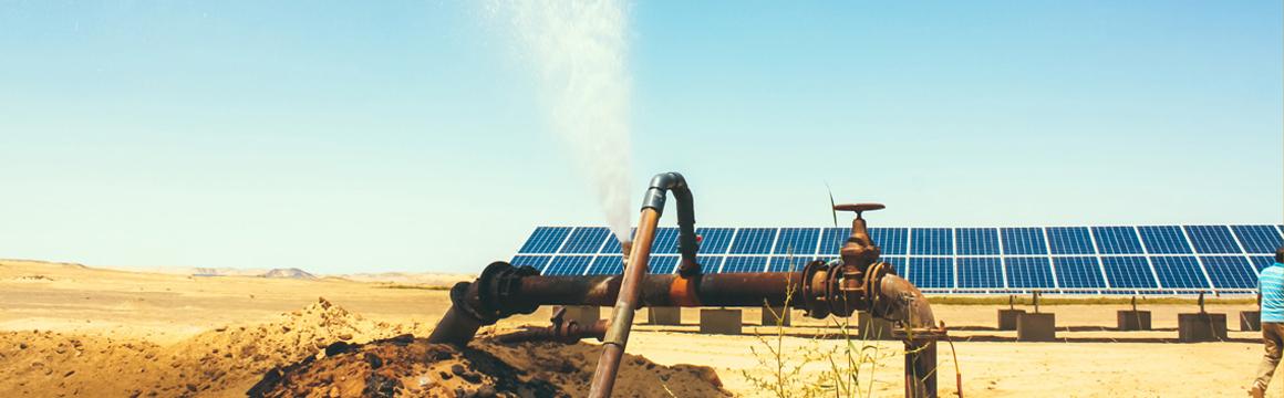Solarbetriebene Wasserpumpen: KarmSolar ersetzt Dieselgeneratoren, ©KarmSolar