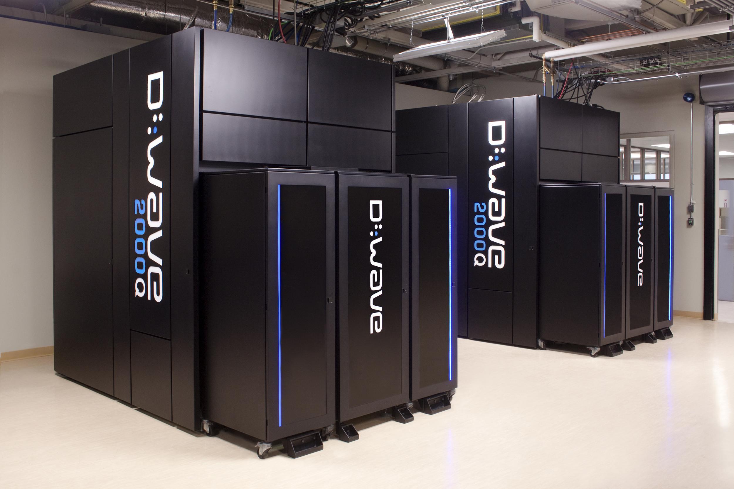 Ein Quantencomputer von D-Wave-Systems im Labor: Der meiste Platz wird für das Kühlsystem benötigt. (Quelle: D-Wave Systems, Inc.)