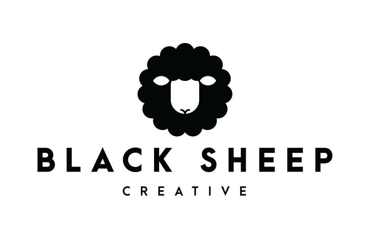 Das schwarze Schaf. Logodesign von Coss™ für jasonRMG