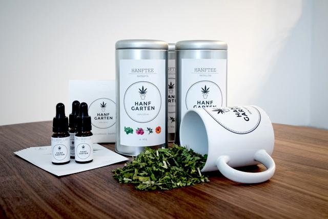Die Hanfgarten-Produkte, aus dem Kampagne auf greenrocket