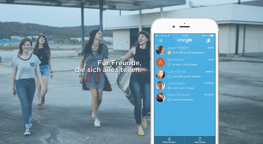 Das FinTech Cringle ermöglicht es, per sms Geld zu überweisen