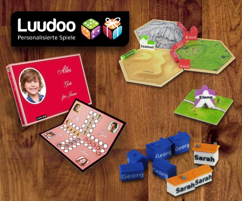 Ludofactur personalisiert Spiele