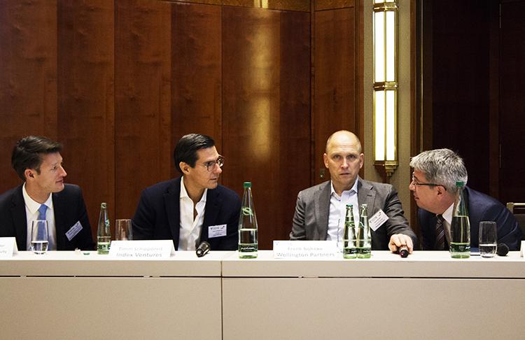 Panel mit Andreas Holtschneider, Timm Schipporeit und Frank Böhnke (v.l.n.r)