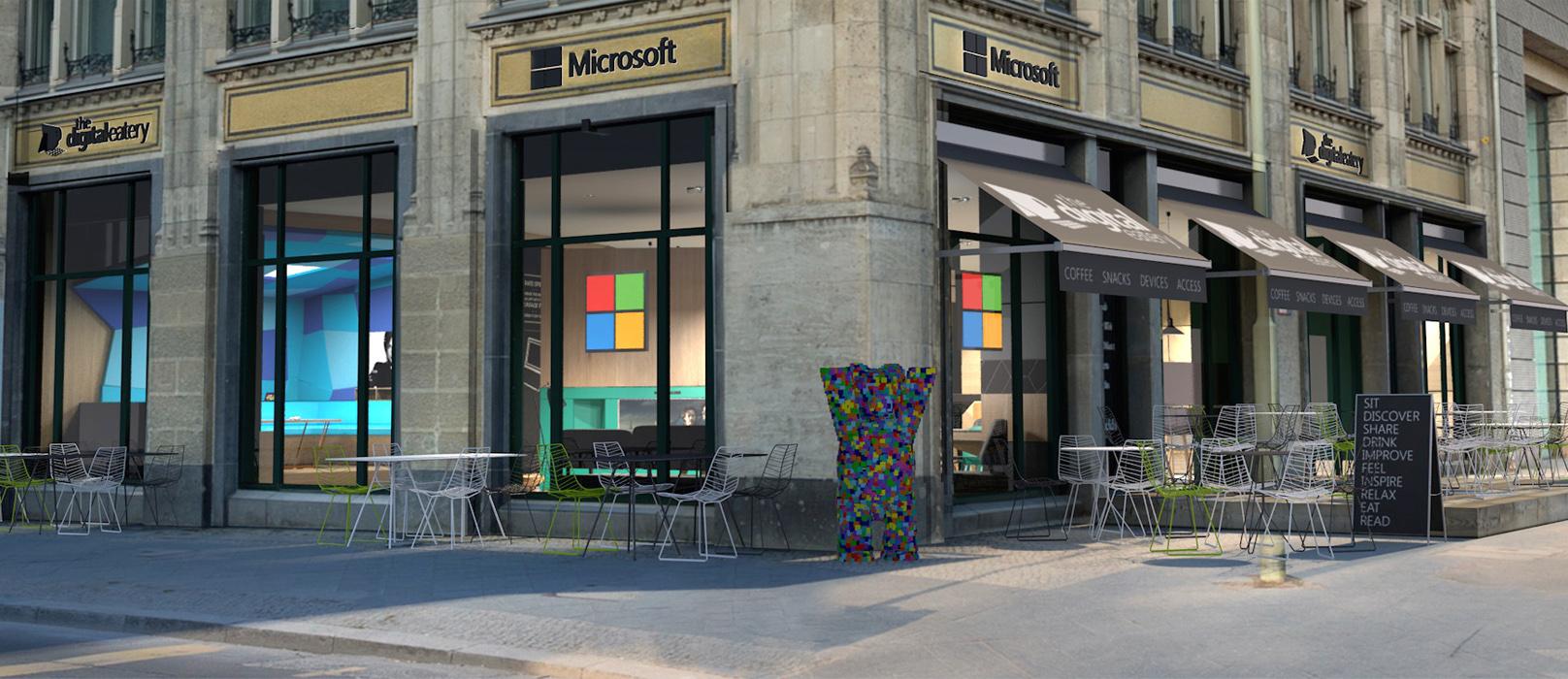 Das Microsoft Atrium