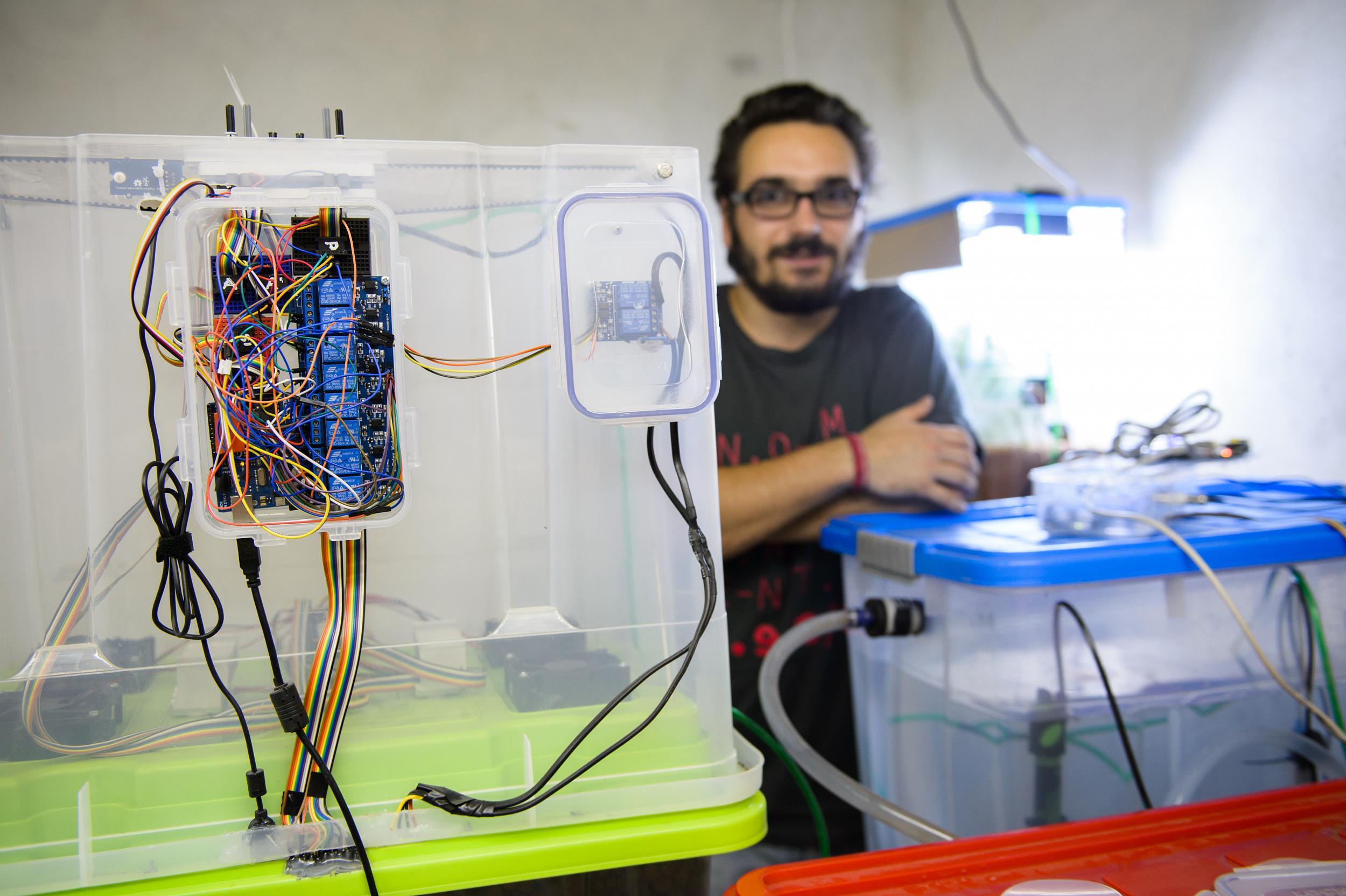 Im Labor werden neue Startups entwickelt