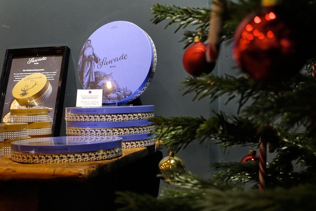 Weihnachtsschokolade von Sawade