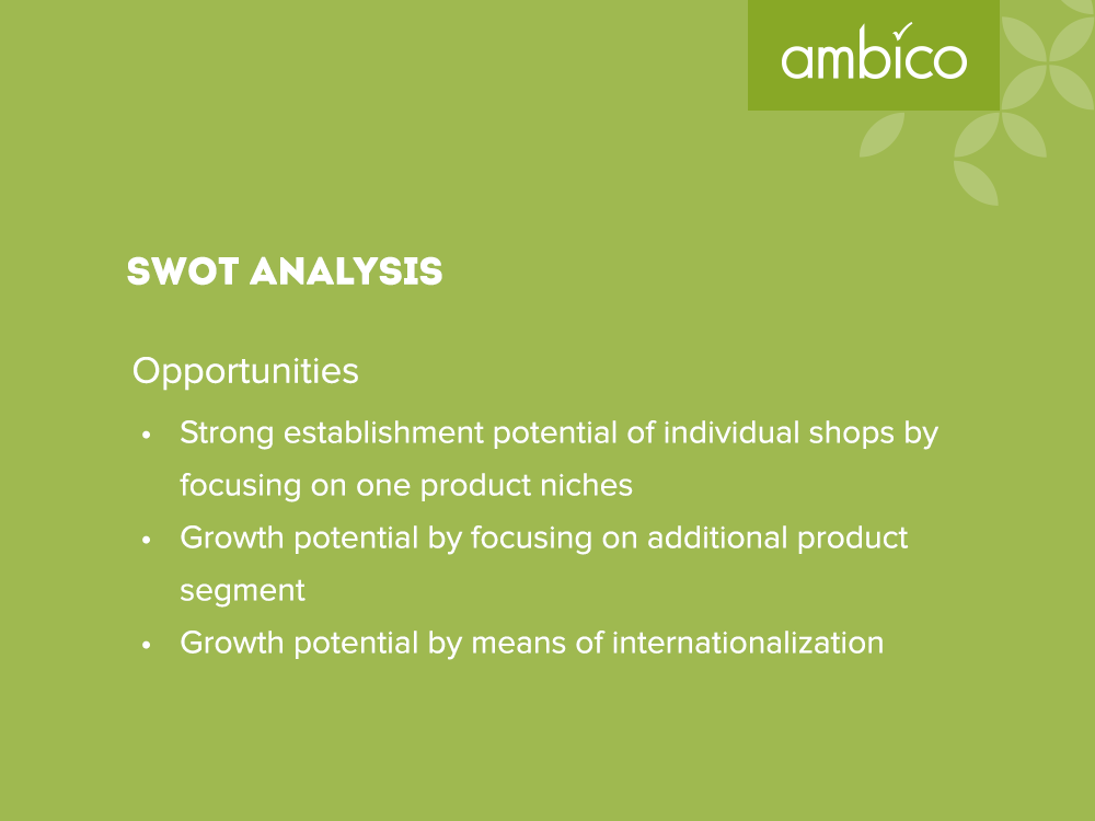 ambico - SWOT Analysis Opportunities
