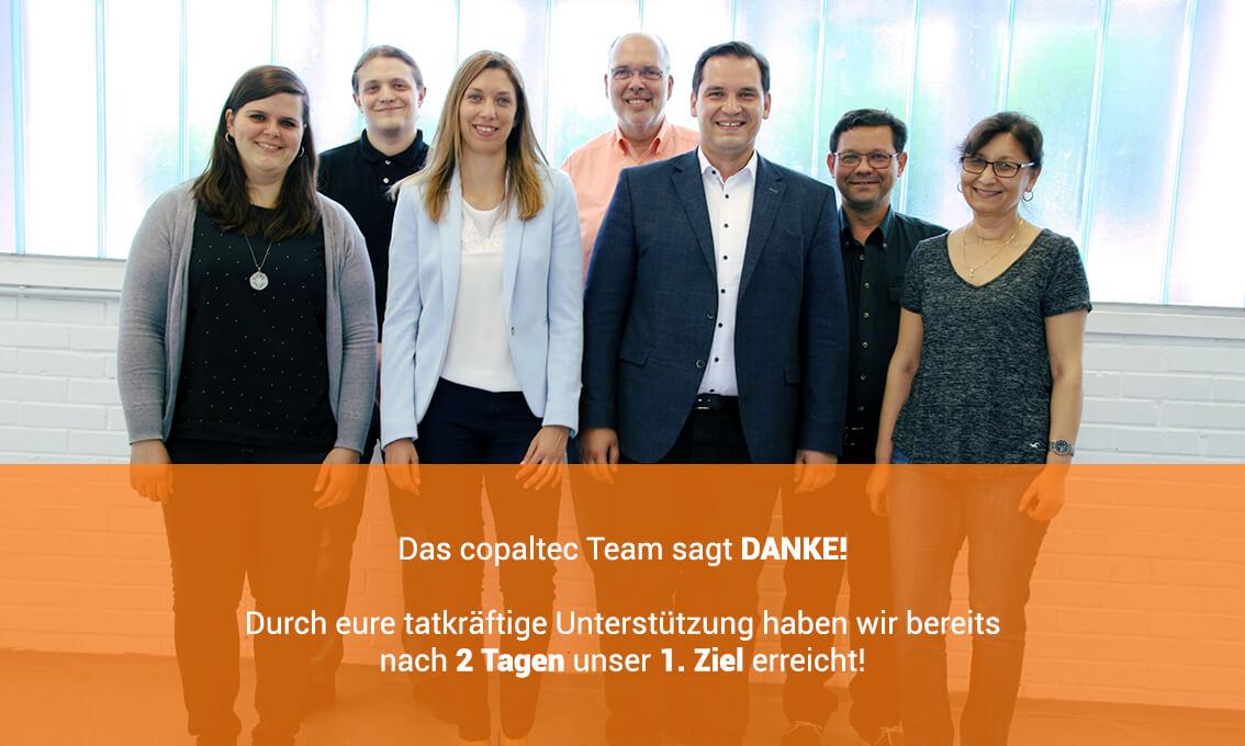 Das Team von copaltec