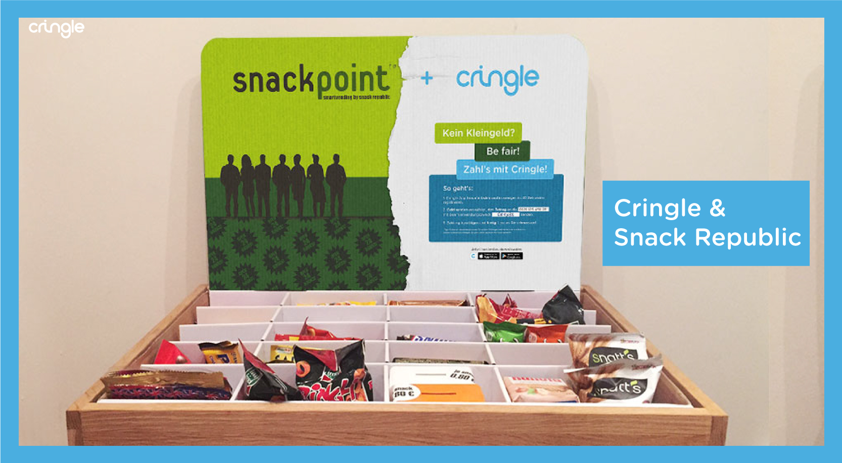 Cringle - Partnerschaft mit Snack Republic