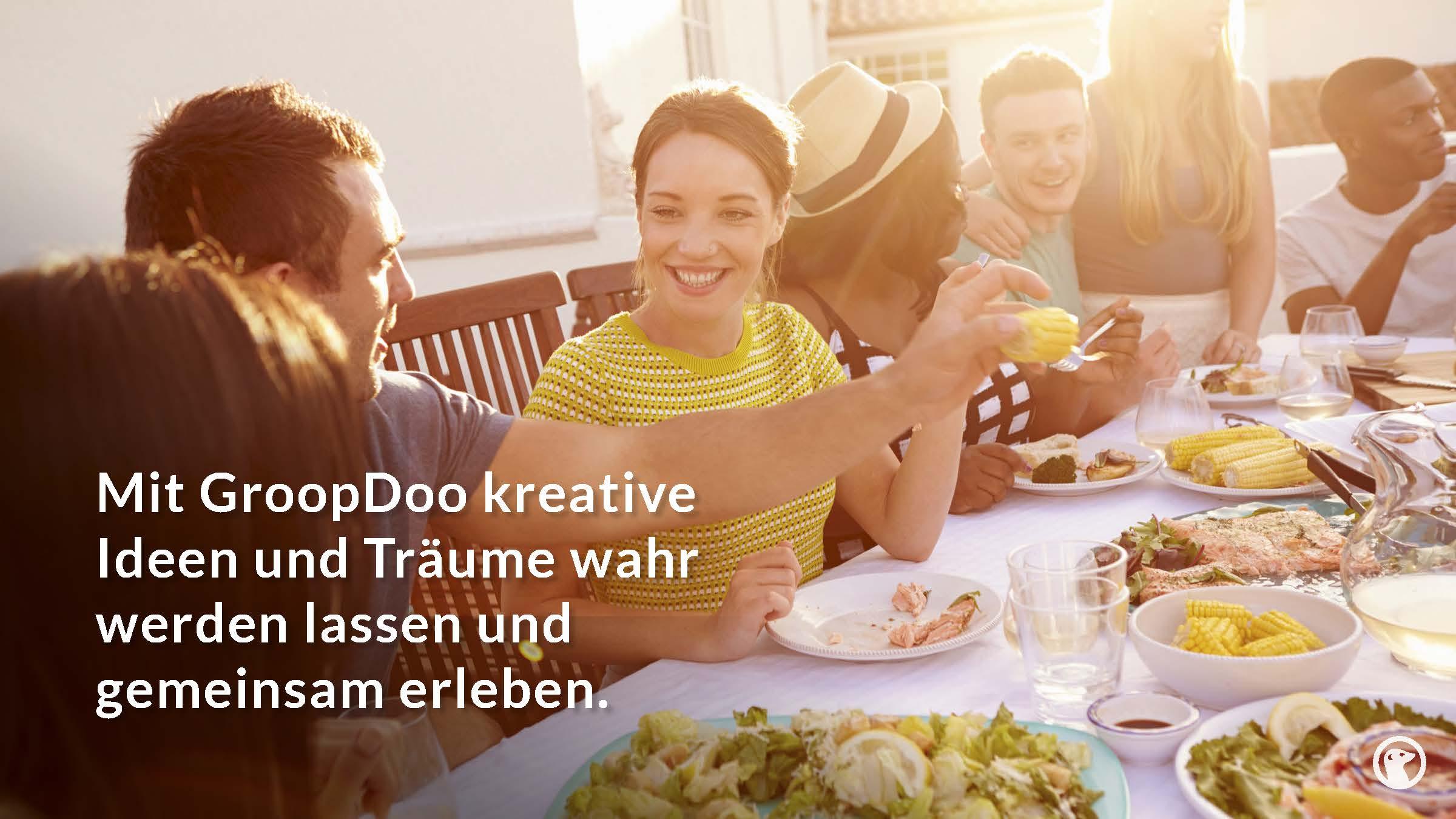 Mit GroopDoo kreative Ideen und träume wahr werden lassen und gemeinsam erleben