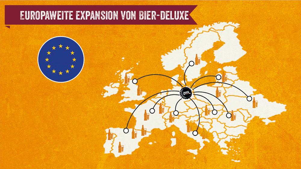 Europaweite Expansion von Bier-Deluxe