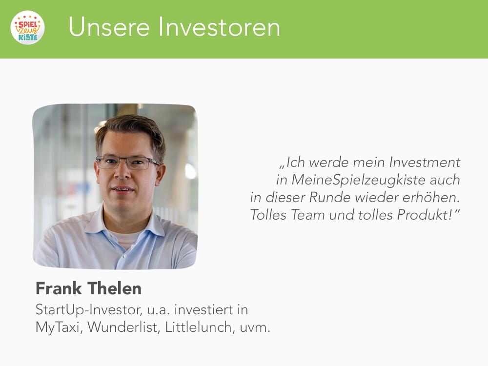 Unsere Investoren - Frank Thelen