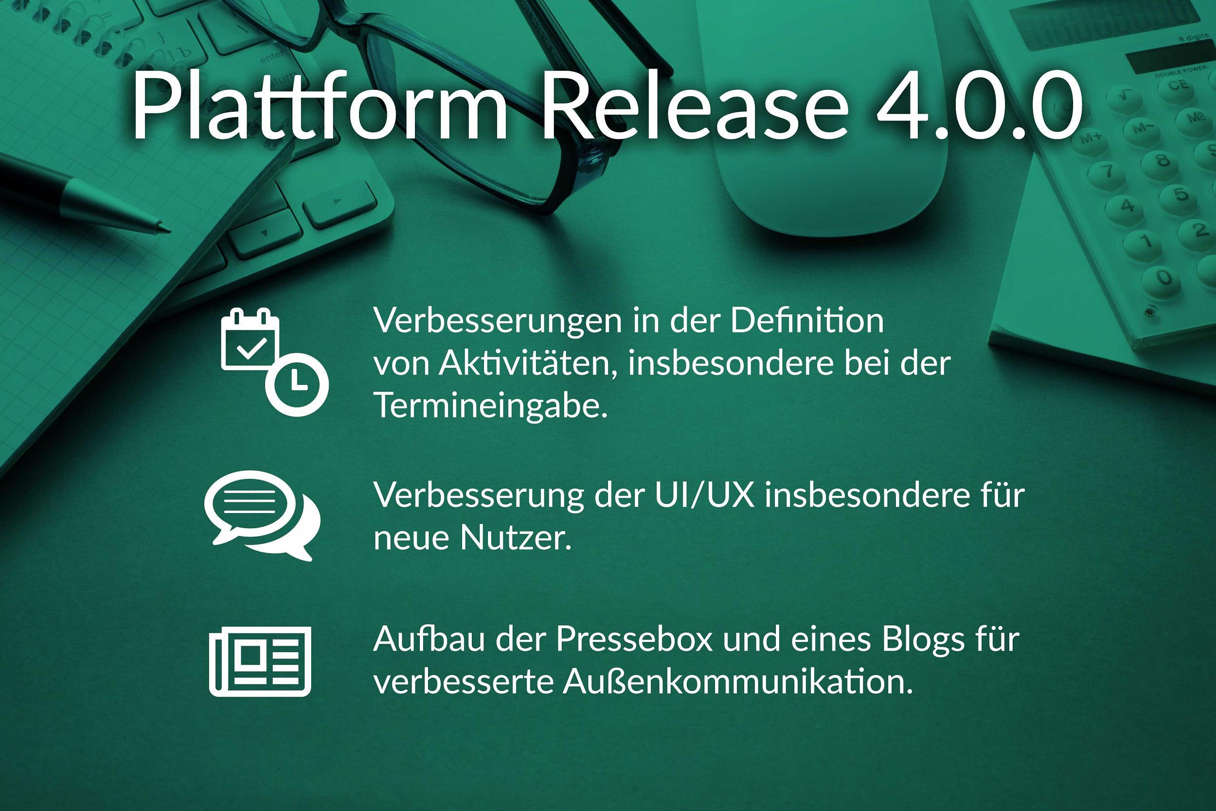GroopDoo Plattform Release 4.0.0.