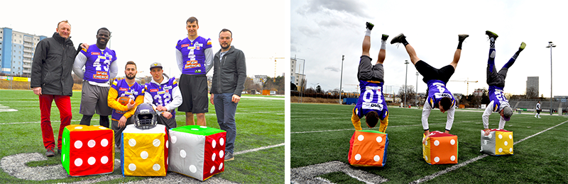 FitW Cubes at the Dacia Vikings Training