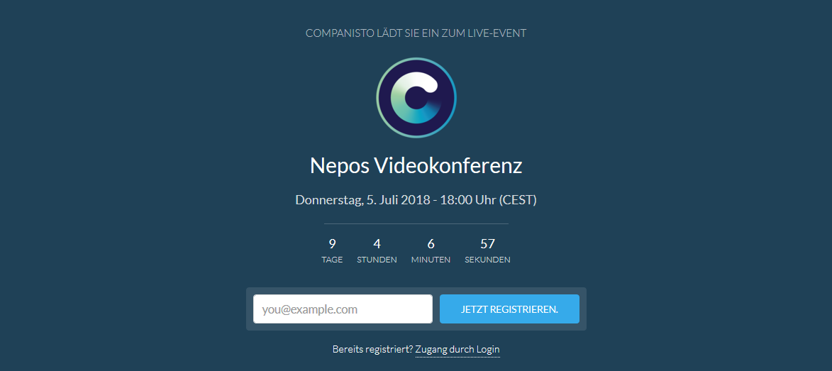 Nepos - Video Chat