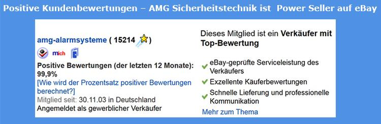 AMG Sicherheitstechnik - Positive Kundenbewertungen