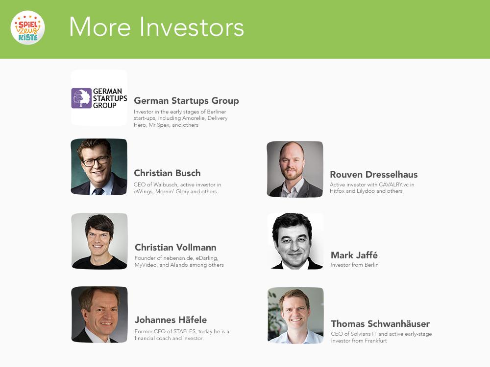 More Investors