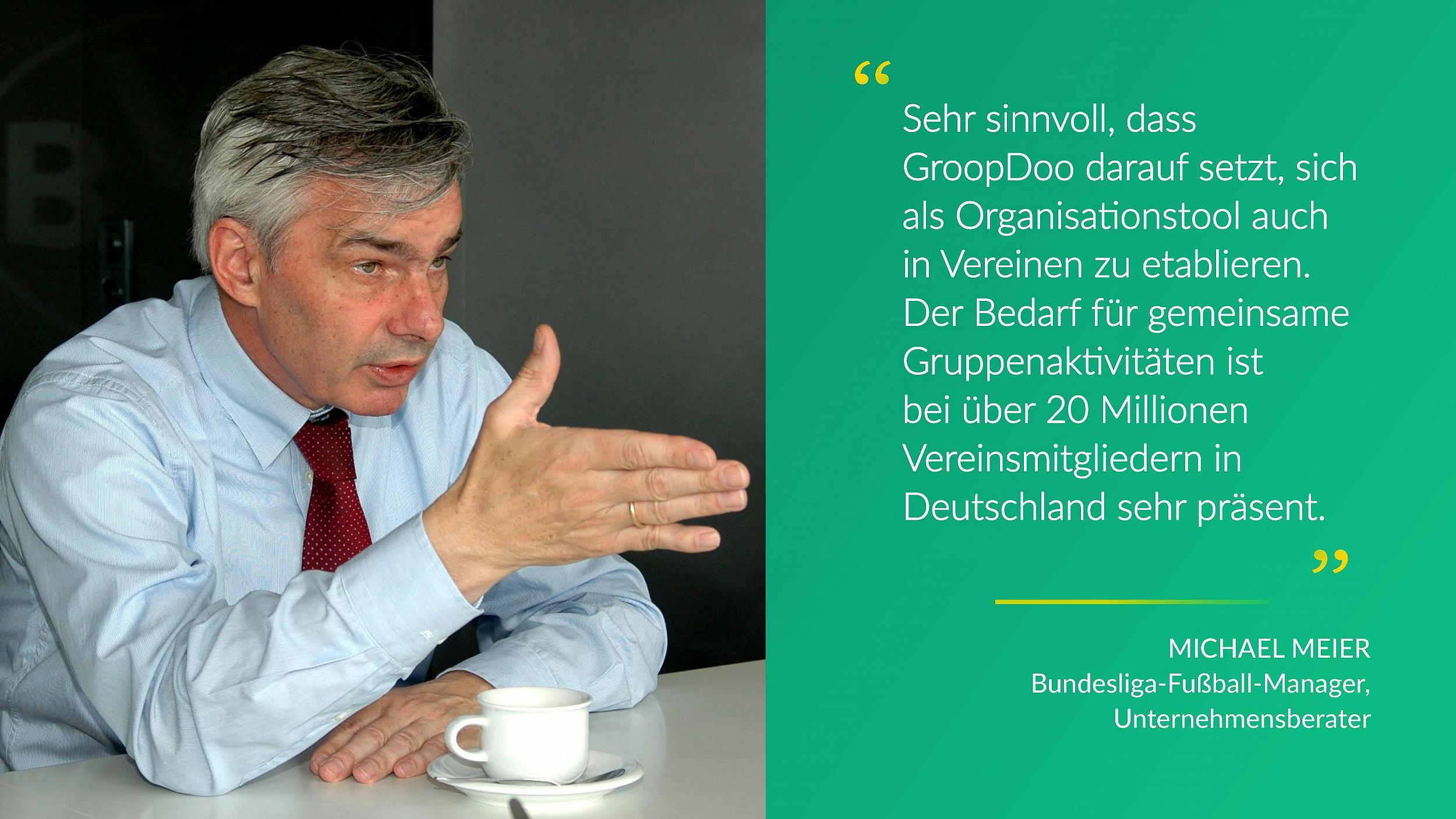 Michael Meier über GroopDoo