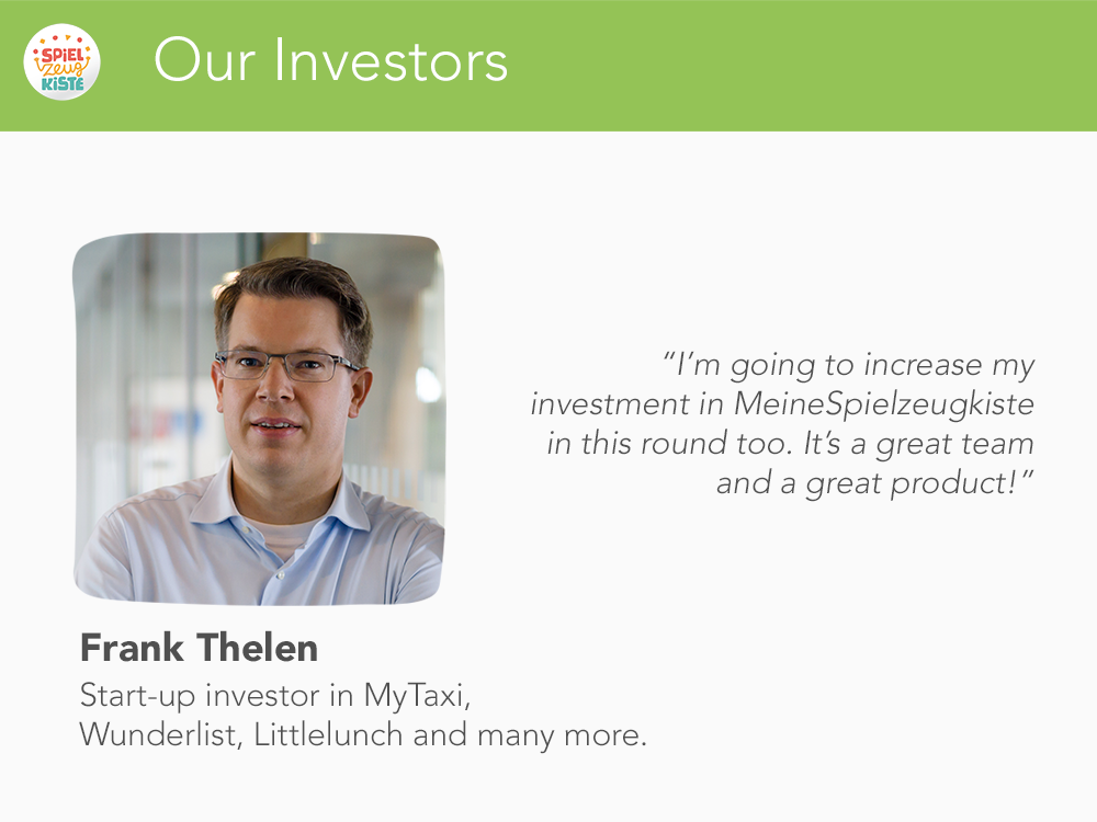 Our Investors - Frank Thelen