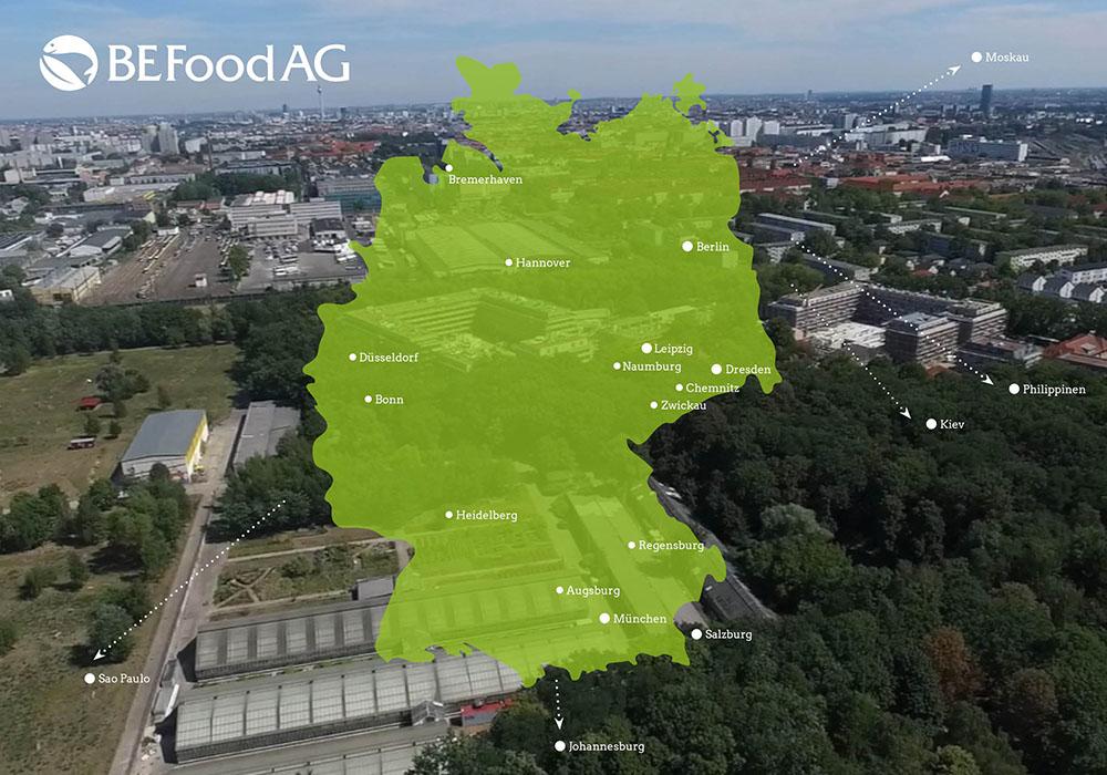 BE Food - Standorte