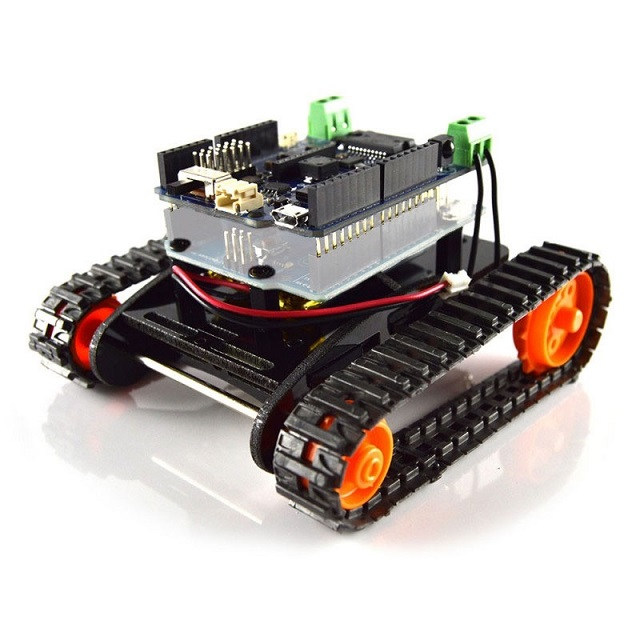 DFRobotShop Rover first program - YouTube