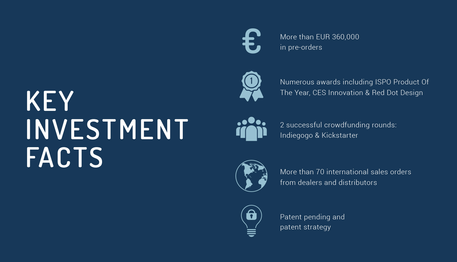 Keys Investment Facts