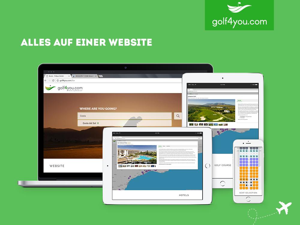 golf4you - Alles auf einer Webseite