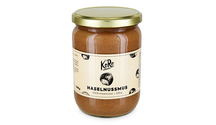 Newest KoRo-Product - Hazelnut mousse