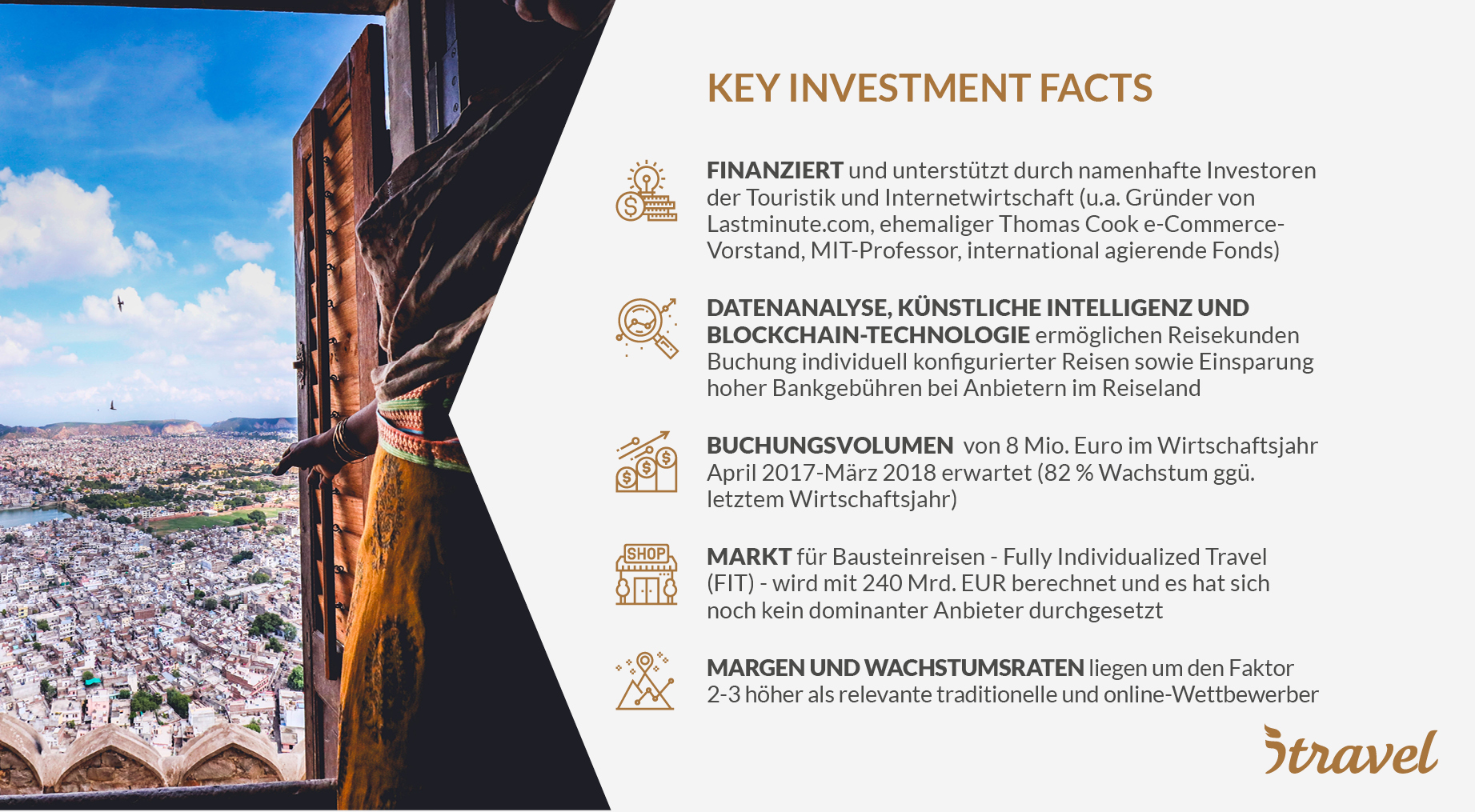 itravel - Key Investment Facts
