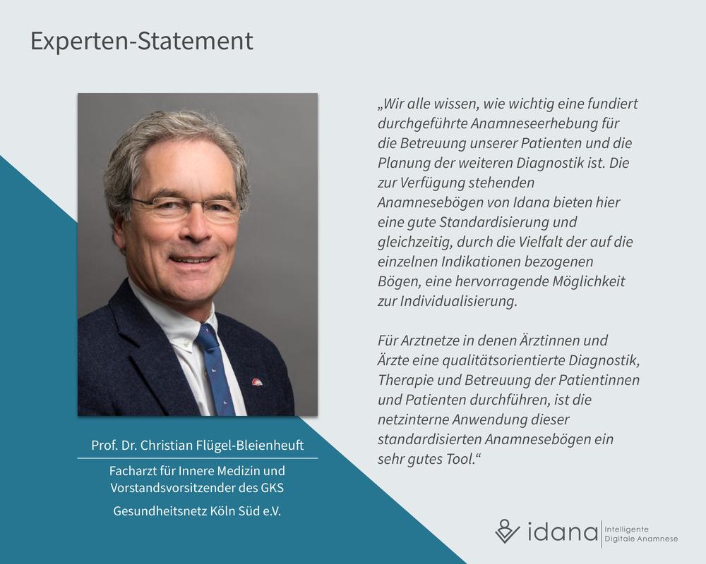 Idana - Experten Statement