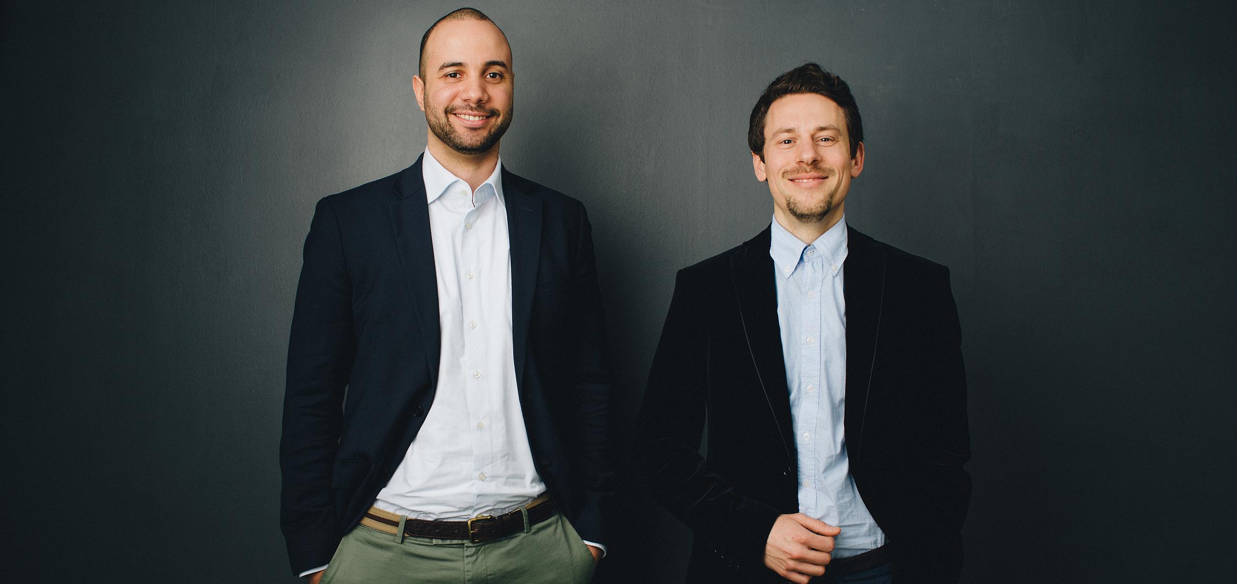 Tamo Zwinge und David Rhotert
