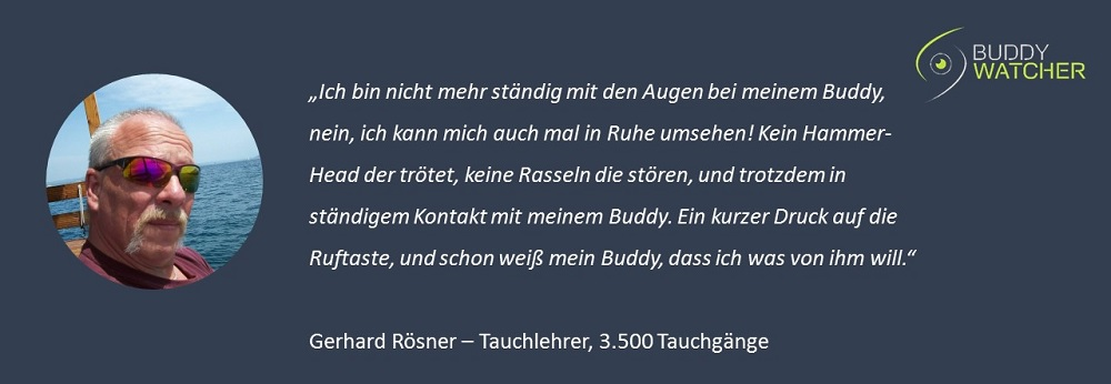 Buddy-Watcher Testimonial Rösner