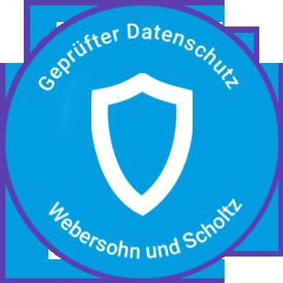 Geprüfter Datenschutz - Webersohn und Scholtz
