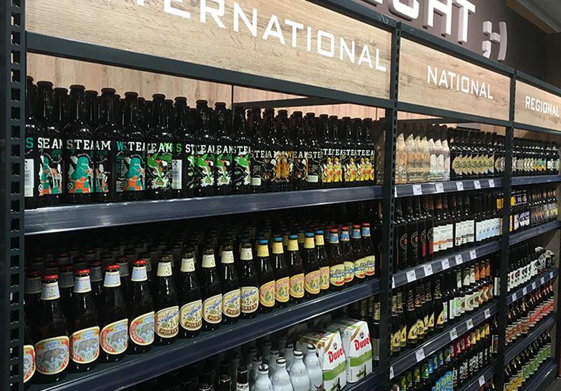 Bier-Deluxe im Edeka-Markt