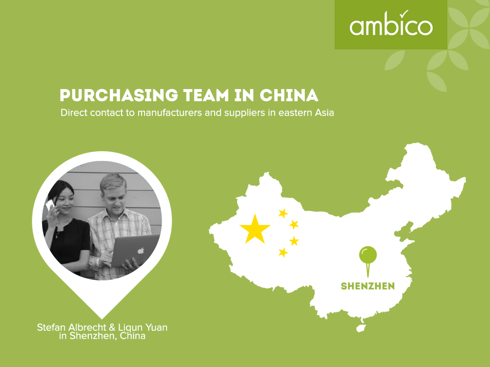 ambico - purchasing team in China
