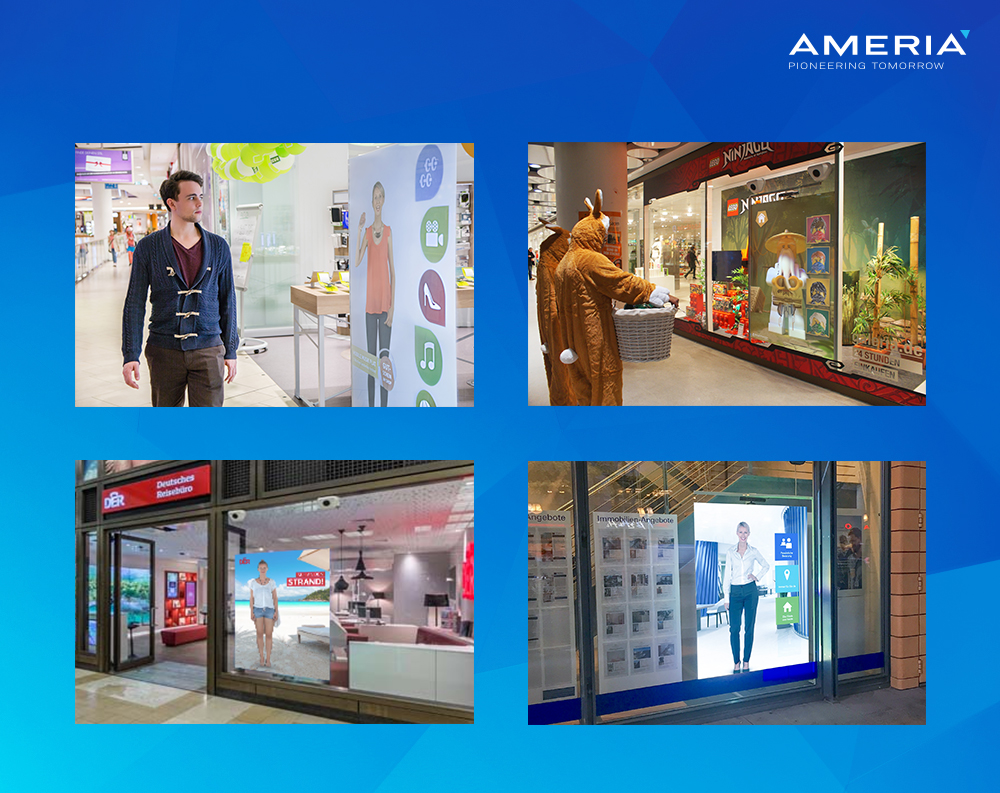 AMERIA - Bilder Virtual Promoter Window