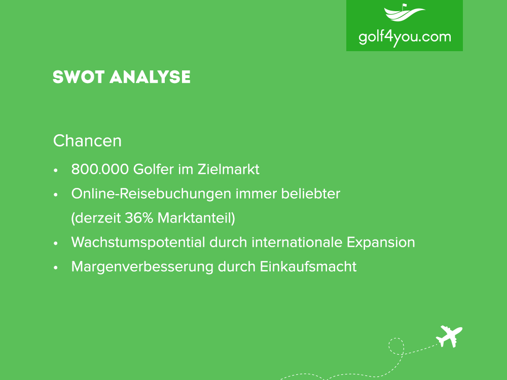 golf4you - SWOT Analyse Chancen